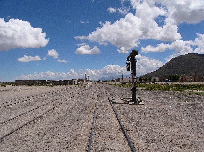 train altiplano