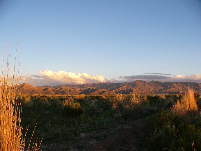 Altiplano coucher de soleil