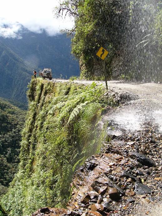route la plus périlleuse du monde