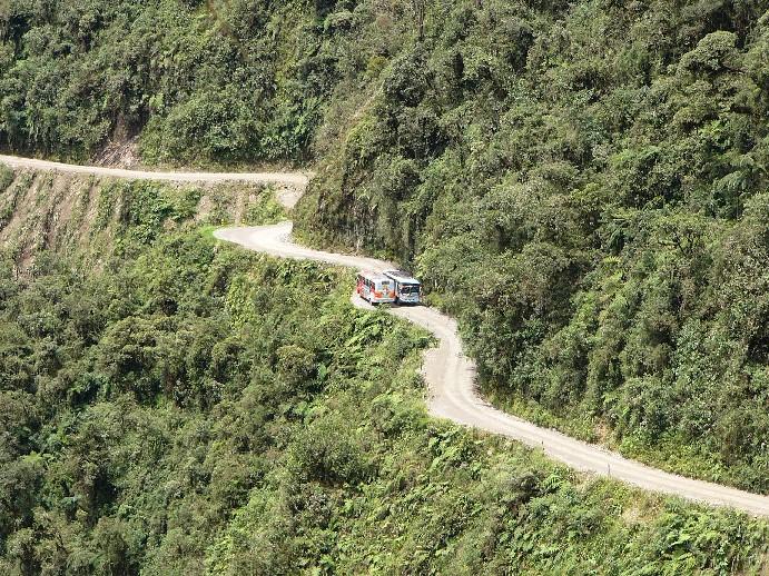 route La Paz Coroico