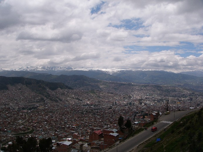 la paz capitale bolivie